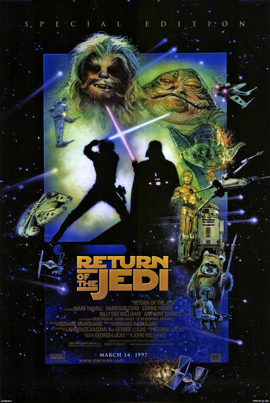 Throwback Thursdays: Return of the Jedi.