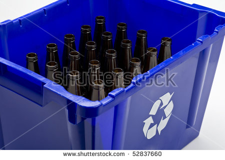 Returnable Bottles Stock Photos, Royalty.