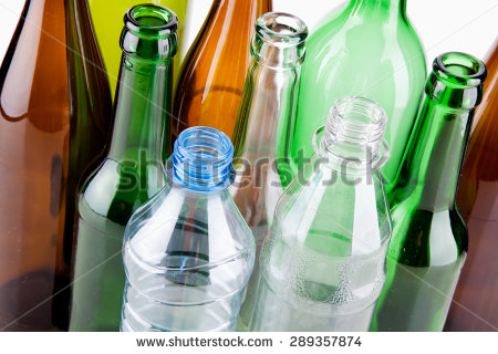 Returnable Bottles Stock Photos, Royalty.