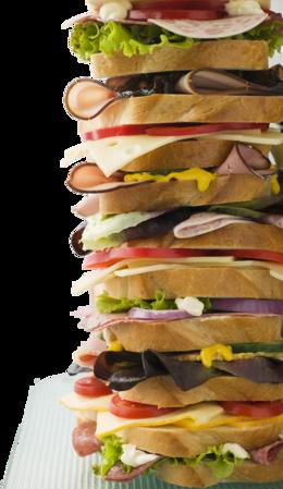 Reuben Sandwich clipart.