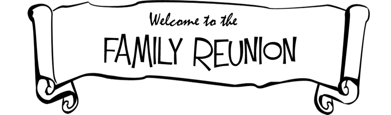 Family Reunion Printable Clipart.