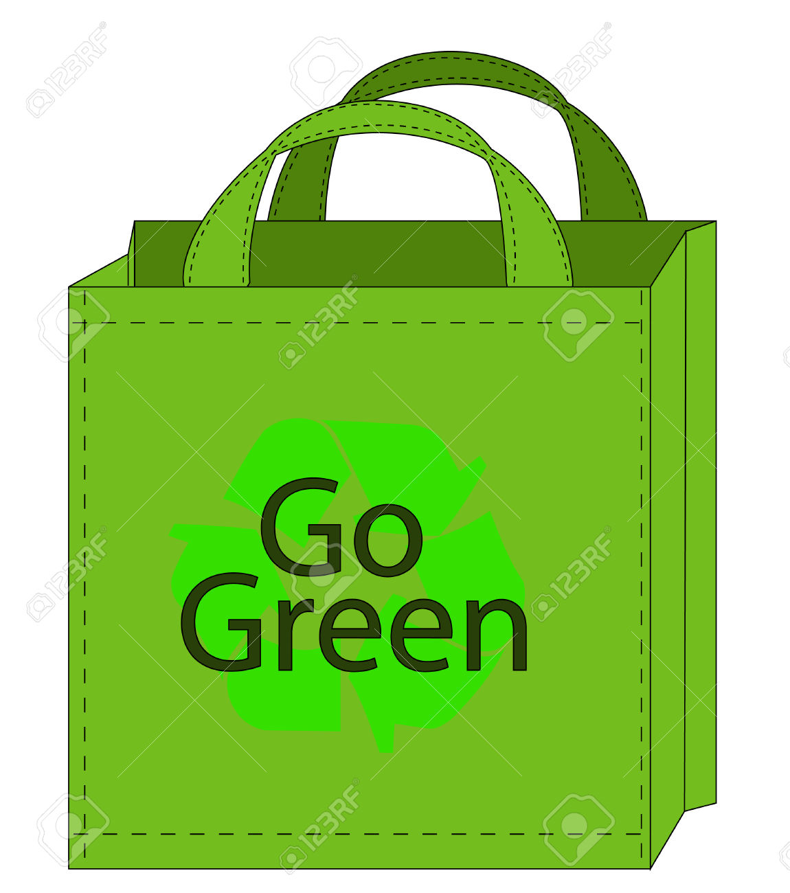 Reusable Bag Clipart.