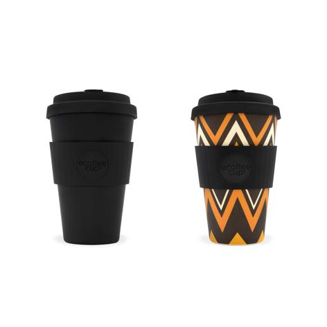 Reusable Coffee Cup 14 oz (2 colours/patterns).