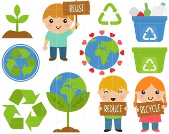 Reduce Reuse Recycle Clipart (22+) pertaining to Reduce.