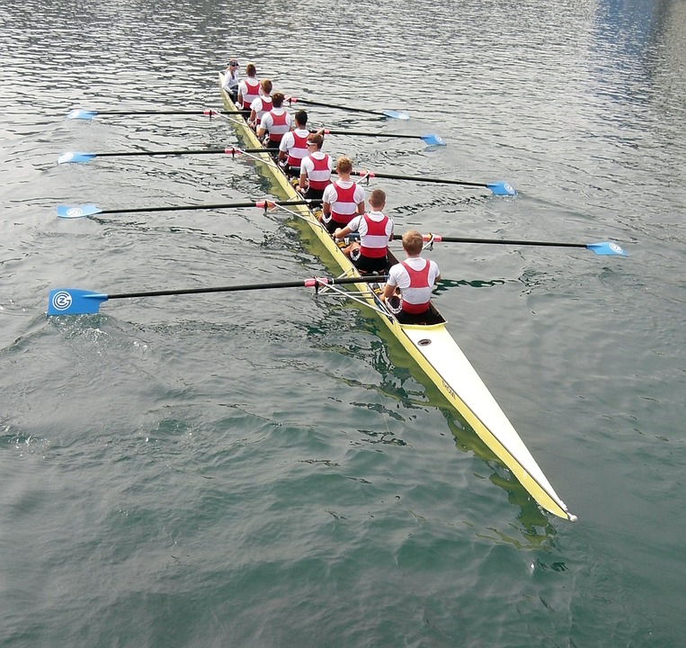 Free photo: Rowing, Lucerne, Reuss Sprint.