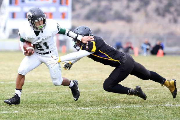 Season ends for Basalt football in playoff loss.