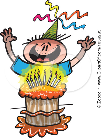 Happy Birthday Boy Clipart.