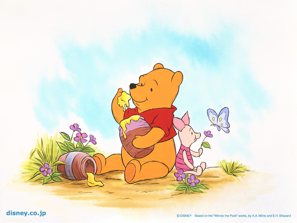 Winnie the pooh background clipart.