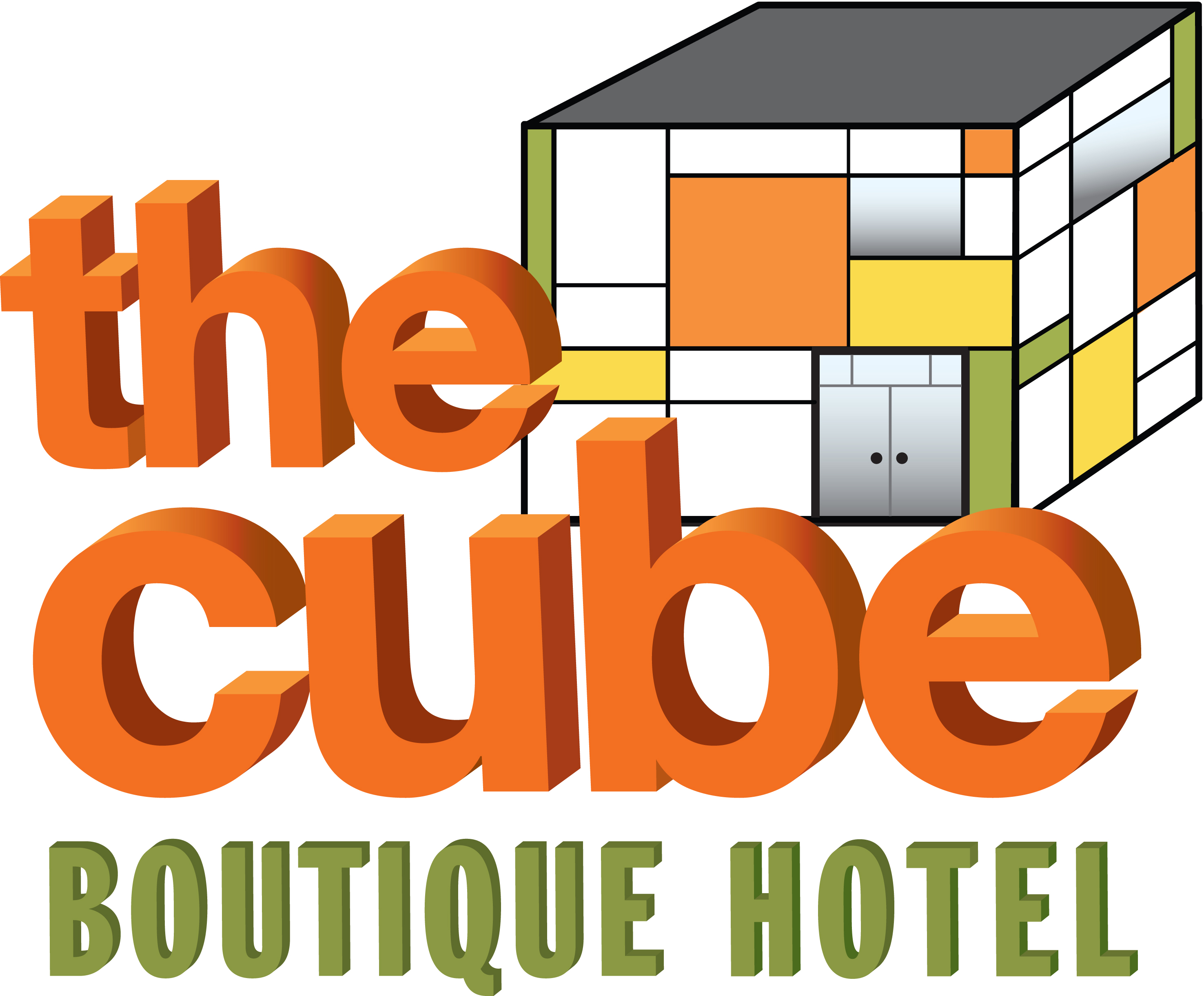 The Cube Hotel.