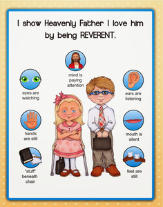 I Can Be Reverent Clipart.