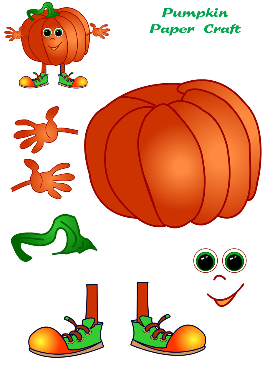 halloween cut out crafts.