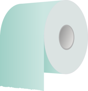 Toilet Paper Roll Revisited Clip Art at Clker.com.