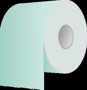 Toilet Paper Roll Revisited Clip Art at Clker.com.
