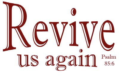 Revival Bulletin Clipart.