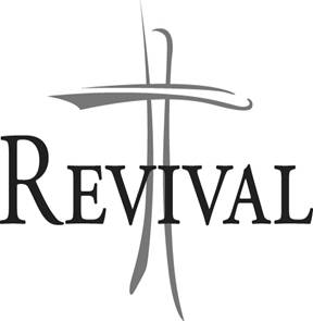 Church Revival Clipart.