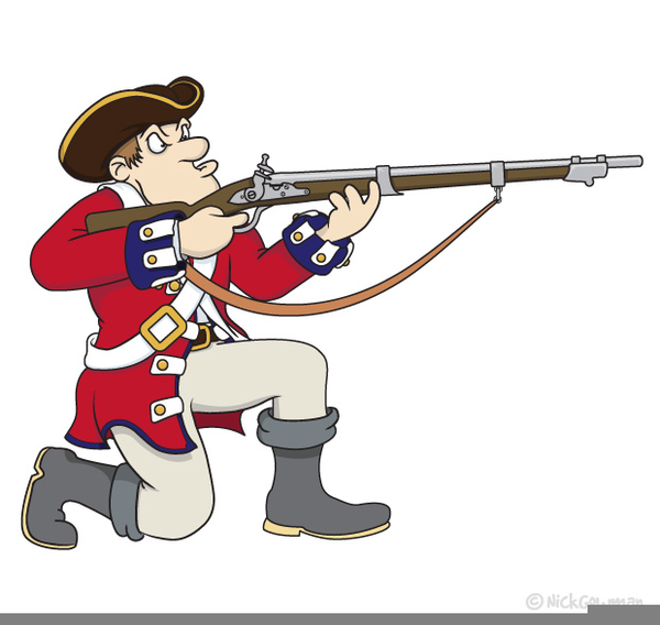 American Revolutionary War Clipart.