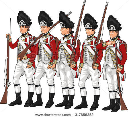 Revolutionary Soldier Stock Images, Royalty.