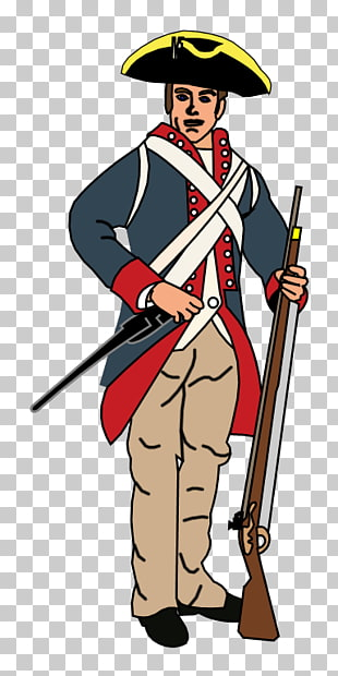 82 American Revolutionary War PNG cliparts for free download.