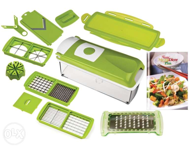 Nicer Dicer speed capability of 1500 and 3000 revolutions per.