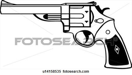 Revolver cliparts.