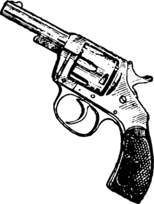 Revolver Clip Art at Clker.com.