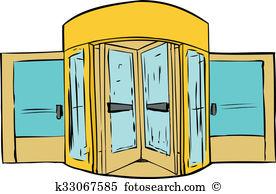 Revolving door Illustrations and Clipart. 77 revolving door.