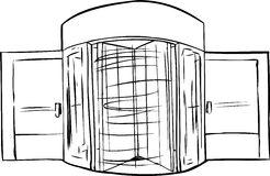 Revolving Door Stock Illustrations.