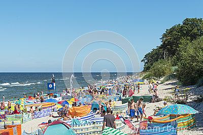 Beach In Rewal Editorial Stock Image.
