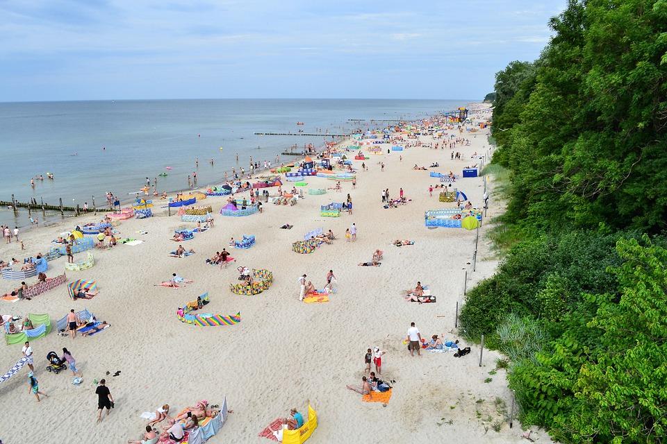 Free photo: Rewal Beach, Poland, Sea, Ocean.