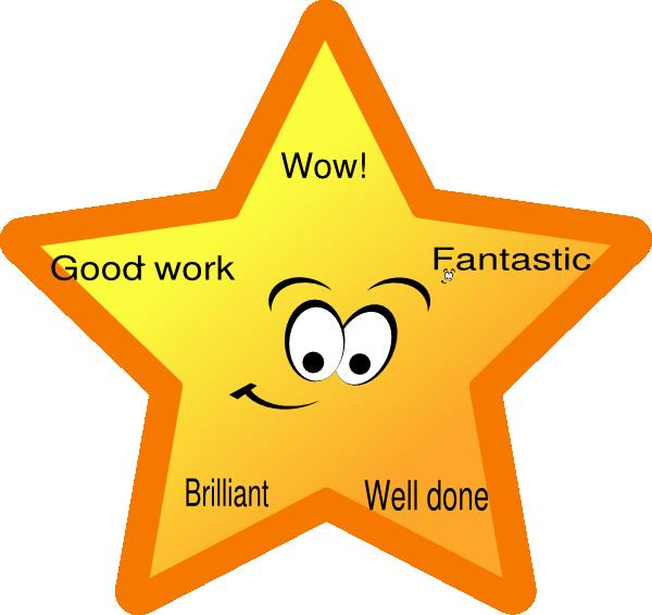 Reward Star Clip Art at Clker.com.