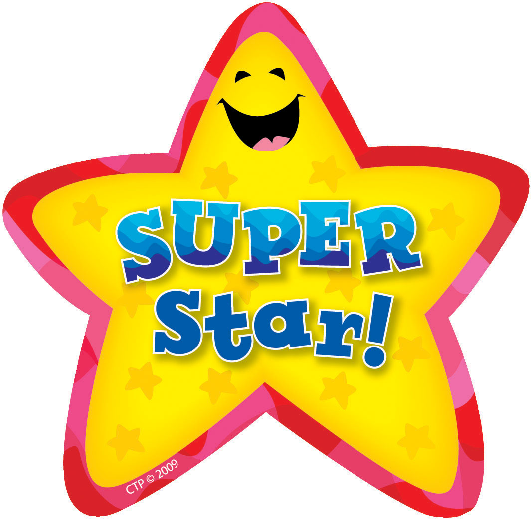 Reward star student clipart.