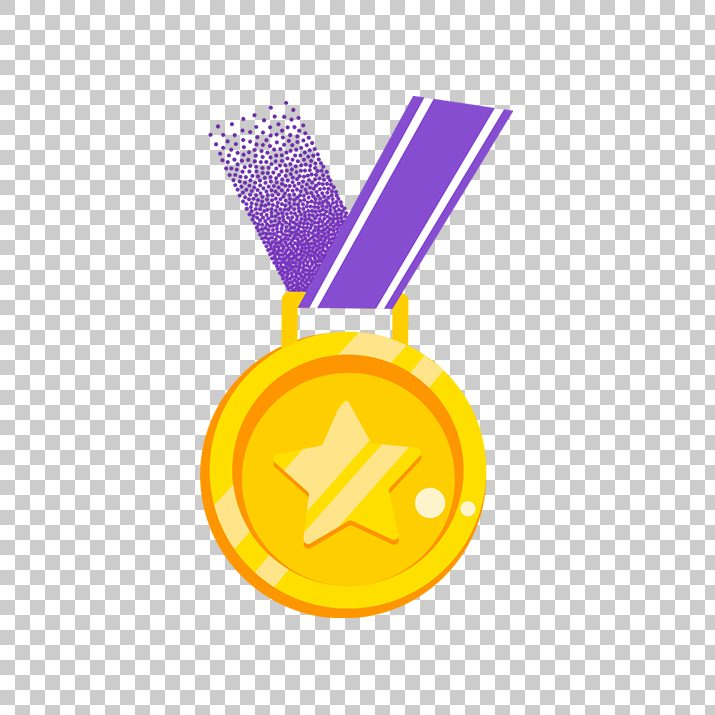 Medals Vector, First, Number.