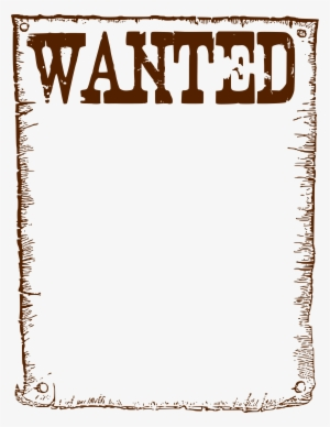 Wanted Poster PNG, Transparent Wanted Poster PNG Image Free.