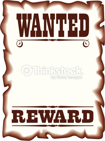 70+ Wanted Poster Clip Art.