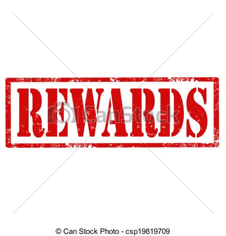 Vector Clipart of Rewards.