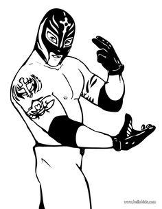 Rey Mysterio Blue & White Replica Mask.