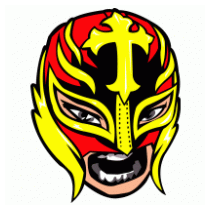 Rey Mysterio Mask Vector.