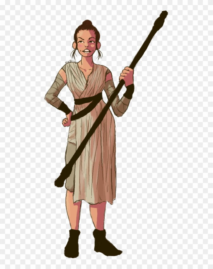 Star Wars Rey Star Wars Clip Art Image Provided.