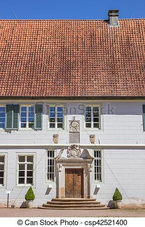 Stock Fotografie von Front, kloster, bentlage, rheine.