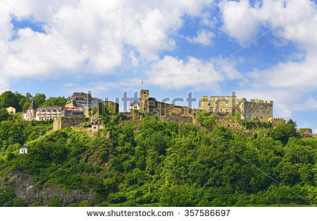 Rhine Valley Stock Photos, Royalty.