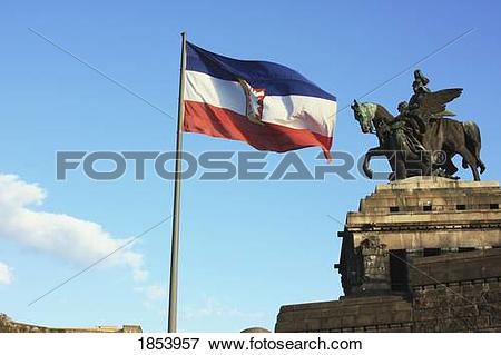 Picture of Monument to Kaiser Wilhelm, Koblenz, Rheinland.