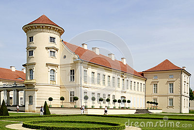 German Palace Rheinsberg On The Grienericksee, Picturesque.