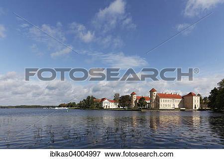 """Picture of """"Lake Grienerick with Rheinsberg Castle, Rheinsberg."""