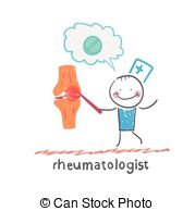 Rheumatology Clip Art.
