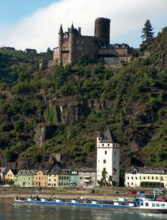 Castles of the Rhine Valley.