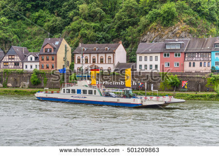 Rhine Cruise Stock Photos, Royalty.