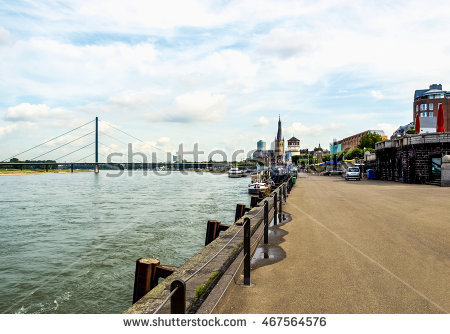 Duesseldorf Stock Photos, Royalty.