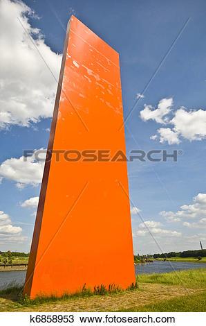 Stock Photo of Rhine orange k6858953.