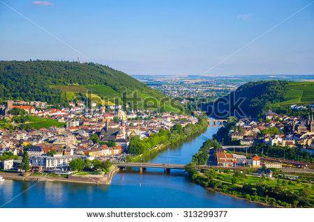 Rhine River Stock Photos, Royalty.