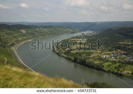 Boppard Rhine Valley Stock Photos, Royalty.